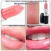M.A.C Cremesheen Lipstick # Sunny Seoul ชมพูอมส้ม