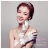 Y-0106 ถุงมือเจ้าสาว ชุดถุงมือเจ้าสาว แบบสั้น สวย หวาน หรู