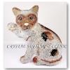 แมวคริสตัล ( Crystal Cat Figurine )