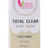 Total Crear Acne Mask (มาร์คฟองฟู่สูตรสิว)