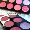 Makeup Revolution Ultra Blush Palette # Sugar and Spice โทนชมพู