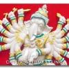 ภาพรูปปั้นพระพิฆเนศ ( Picture frame of Elephant-headed god )