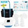 เครื่องปั๊มนมไฟฟ้าแบบปั๊มคู่ รุ่น D-1 Natur Double Electric Breast Pump