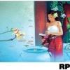 ภาพวาดแนวจริยศิลป์ล้านนา พิมพ์ลงผ้าใบ รหัสสินค้า RP - 08