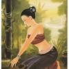 ภาพศิลปะล้านนาLanna People รหัสสินค้า A _ 36