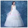wm5106 ขาย ชุดแต่งงาน เจ้าหญิงแขนกุด เอวสูง ใส่ถ่ายพรีเวดดิ้ง สวยหรู ดูดีที่สุดในโลก ราคาถูกกว่าเช่า