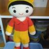ตุ๊กตาถักเด็กชาย ขนาด 12 นิ้ว