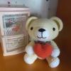 ตุ๊กตาหมีถือหัวใจ