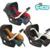 คาร์ซีท กระเช้า Fico รุ่น HB801 [สำหรับเด็กอายุ 0-15 เดือน]