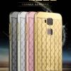 เคสมือถือ Huawei G7 Plus- เคสขอบโลหะ ฝาหลังลายตาราง (พรีออเดอร์)