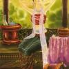 ภาพศิลปะล้านนา ชื่อภาพแม่หญิงแต่งตัว รหัสสินค้า A _ 65