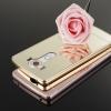 Case LG V10 - เคสขอบโลหะ ฝาหลังกระจกเงาสไลด์ (พรีออเดอร์)