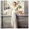 WM40012 ขาย ชุดแต่งงานราคาถูก คอวี ชุดถ่ายพรีเวดดิ้ง แบบ ดารา สวยที่สุดในโลก