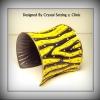 กำไลข้อมือลายเสือ ( Tiger Design Bracelet )