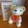 ตุ๊กตาหมี 7 นิ้ว ถือหัวใจ