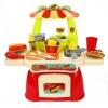 ร้านทำอาหารฟาสต์ฟู้ดพิซซ่า Mini Fast food Shop 23 ชิ้น