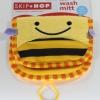 0963-- [ตำหนิ ลายผึ้ง][สินค้ามือ 1] ผ้าเช็ดทำความสะอาดขณะอาบน้ำ