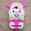 เคสมือถือ Huawei y3ii ซิลิโคน3D พิกเล็ต [Pre-order]