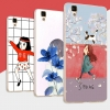 เคสOppo R7s- Cartoon Jelly Case [Pre-Order]