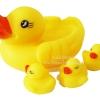 แม่ลูกเป็ดอาบน้ำ Duck Duck