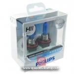 Philips หลอดไฟ H11 DIAMOND VISION ULTIMATE WHITE PLUS 40% แสงขาว 5000K