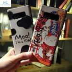 เคสมือถือ Samsung Galaxy note8 เคสซิลิโคนสกรีนลายการ์ตูนนูน3D [Pre-Order]