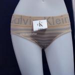 กางเกงในผู้หญิง CK สีน้ำตาลขอบใหญ่