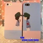 iPhone 5- เคสแข็งลายคู่รัก [Pre-Order]