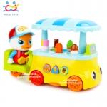 รถเข็นไอศกรีมห่านน้อย Huile Colorful Ice-Cream Cart