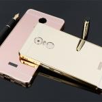 เคสมือถือ Lenovo K6 Note - เคสขอบโลหะฝาหลังหระจกเงา [Pre-Order]