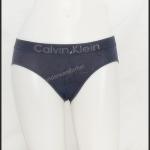 ชุดชั้นในผู้หญิง Calvin Klein สีเทาเข้ม มีลายด้านหน้า