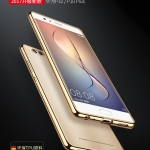 เคสมือถือ Huawei P10 Plus เคสTPU ขอบชุบสีโครเมี่ยม (พรีออเดอร์)