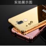 case Huawei GR5 2017- เคสขอบโลหะฝาหลังเป็นกระจกเงาสไลด์[Pre-Order]