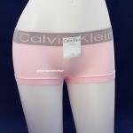ชุดชั้นในผู้หญิง CALVIN KLEIN BOXER สีชมพู