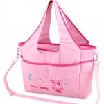 [ชมพู] กระเป๋าสัมภาระคุณแม่ Cool Baby ขนาดใหญ่