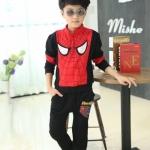 พร้อมส่งค่ะ ชุดเช็ตเสื้อ+ กางเกง Spider man สุดเท่ห์ ผ้าดีค่ะราคาสุดคุ้ม เหลือไซส์ 140/160