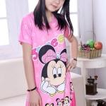 พร้อมส่งค่ะ เดรสสาวน้อย ลายมินนี่สีชมพู น่ารักมากค่ะ ผ้านิ่มมากค่ะ เหลือไซส์ 110=5ชุด/ 120=6ชุด/ 130=5ชุด/