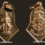 เหรียญท้าวเวสสุวรรณ วัดจุฬามณี ใบจำปี พิมพ์เล็ก หลวงพ่ออิฏฐ์ ปี 2552