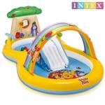 สระน้ำเป่าลมสไลเดอร์หมีพูห์ Intex Winnie The Pooh [Intex-57136]