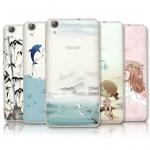 เคสมือถือ Huawei Y6II -เคสซิลิโคนสกรีนลายการ์ตูน [Pre-Order]