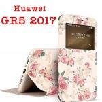 Case Huawei GR5 2017- เคสฝาพับพิมพ์ลายการ์ตูน [Pre-Order]