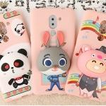 case Huawei GR5 2017-เคสตีวการ์ตูนนิ่ม ตั้งได้ เก็บหูฟังได้ [Pre-Order]