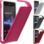 Sony Xperia TX - Leather Flip Case [Pre-Order]