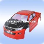 บอดี้ รถบังคับ1/10 วีโก้VIGO(สีแดง)