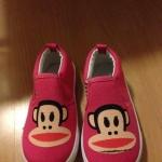พร้อมส่งค่ะ รองเท้าเด็ก Paul Frank งานสวยมากค่ะ ไซส์16  cm.ไซส์ตามความยาวเท้าค่ะ*** มีตำหนิ นิดเดียวตามรูปค่ะ