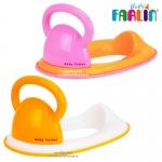 ฝารองชักโครกมีหูจับ Farlin Baby Toilet Seat