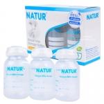 [แพ็ค3ขวด][4oz] Natur ขวดเก็บน้ำนม Breast Milk Storage Bottles