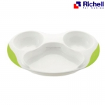 จานหลุมทานข้าว Richell Lunch Plate