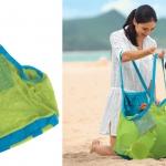 1216-1217 -- กระเป๋าตาข่าย เก็บของเล่นทราย [Sand Away Beach Bag]