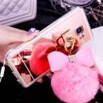เคสมือถือ Samsung Galaxy A5 2017 เคสนิ่มฝาหลังกระจกเงาฟรุ้งฟริ้ง [Pre-Order]